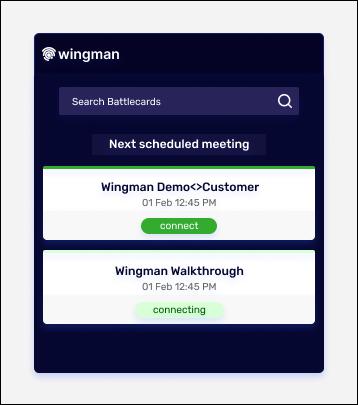 Wingman desktop app