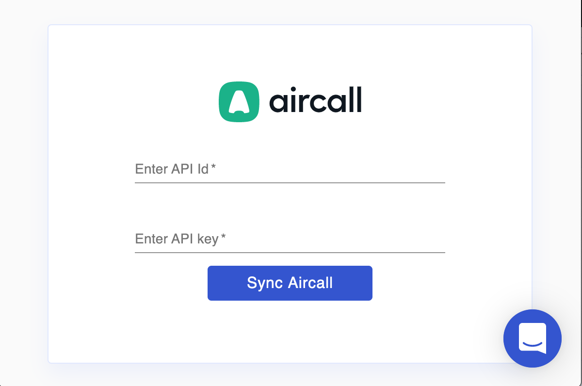 Sync Aircall with Wingman